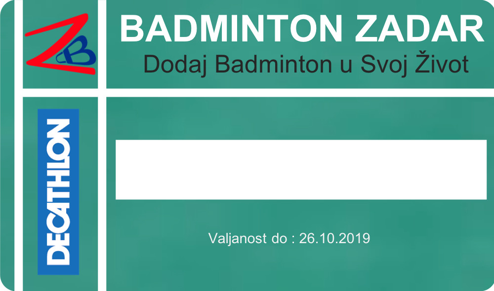 badminton zadar decathlon partnership